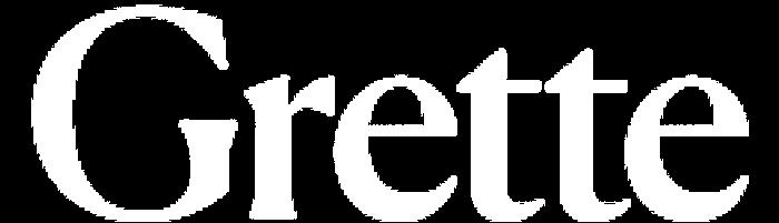 Grette logo white
